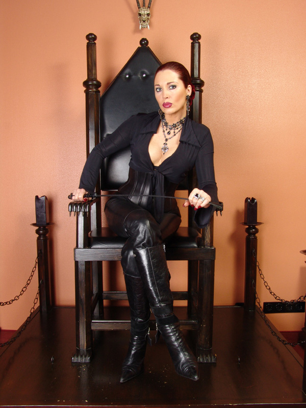 Lady Ramirez on Throne