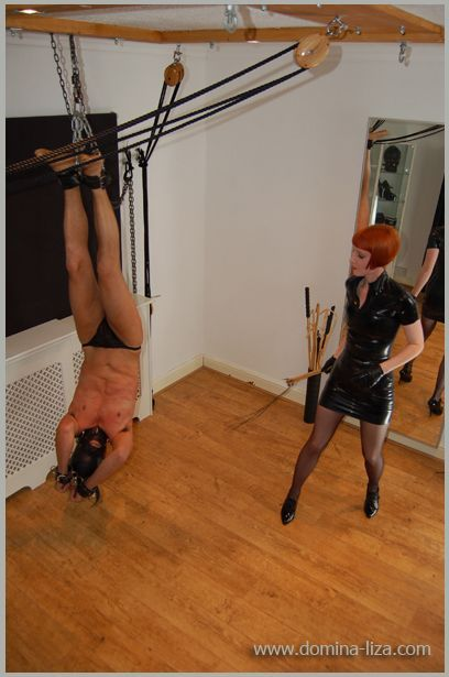 Inverted whipping by Domina Liza