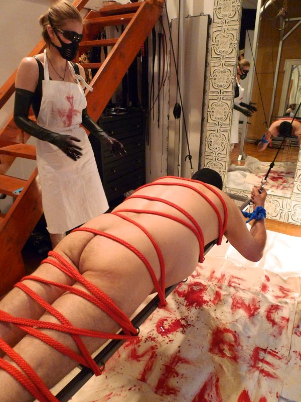 Mistress lydia and mistress paris hurt the maid - 2 3
