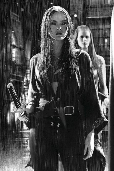 Devon Aoki as Miho in Sin City