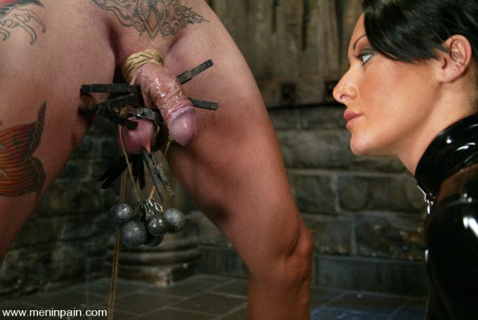 CBT shot from Kink's Men in Pain