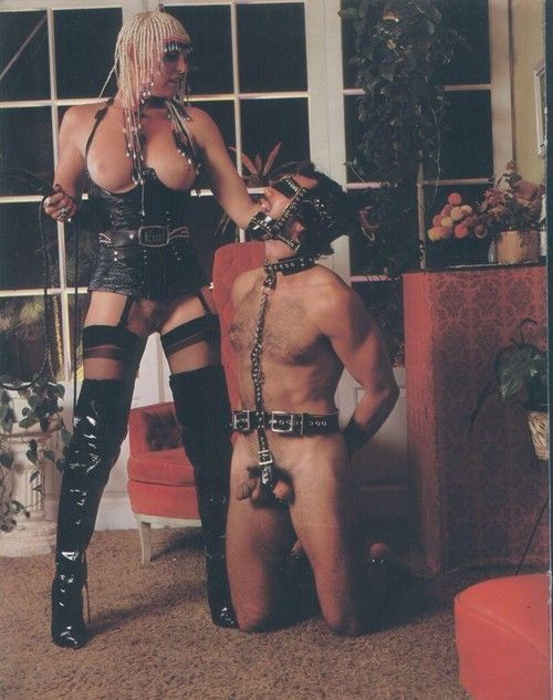 Vintage leather fetish outfits