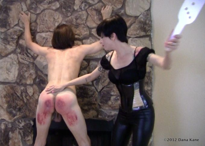 Dana Kane and Lexan paddle
