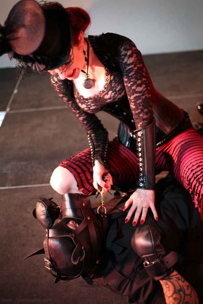 Getting Your Paws Wet with Mistress Liliane Hunt