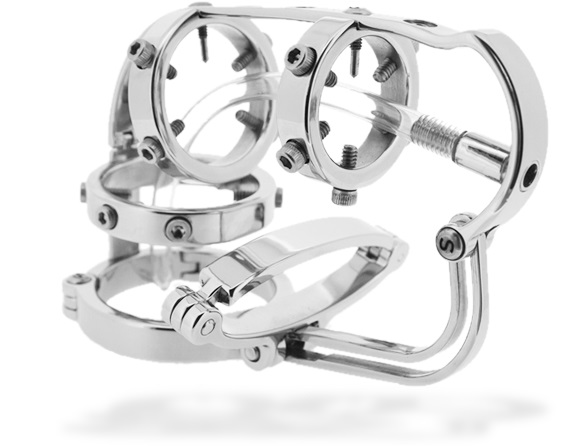 Torture Puzzle chastity device by Steelwerks