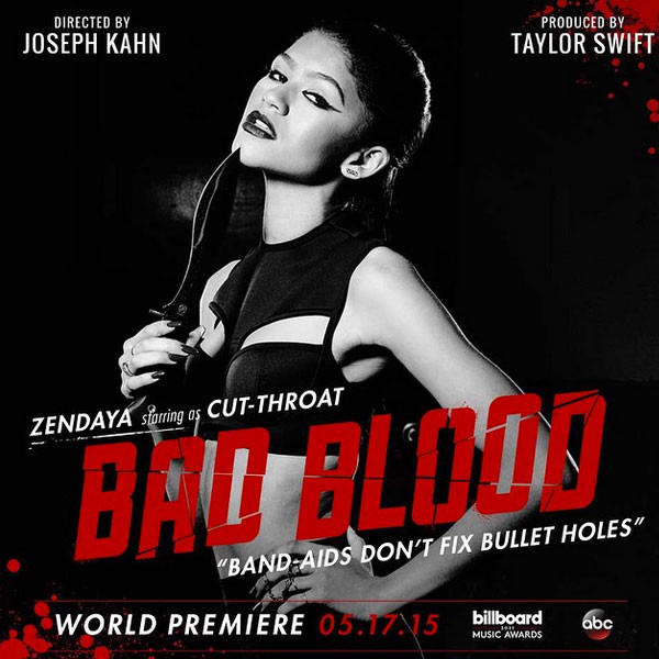 Bad Blood poster from Taylor Swift video